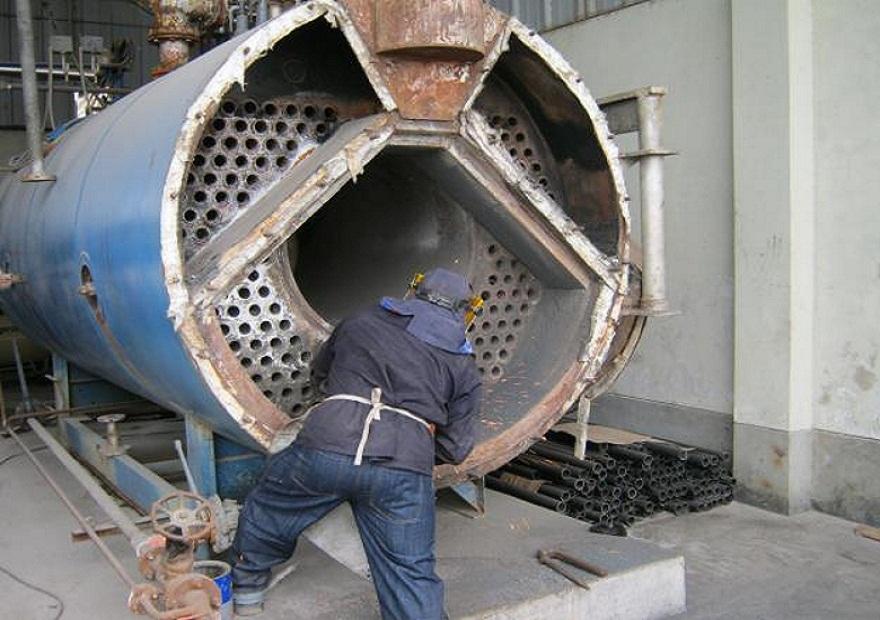 retubage chaudière a vapeur imec inter